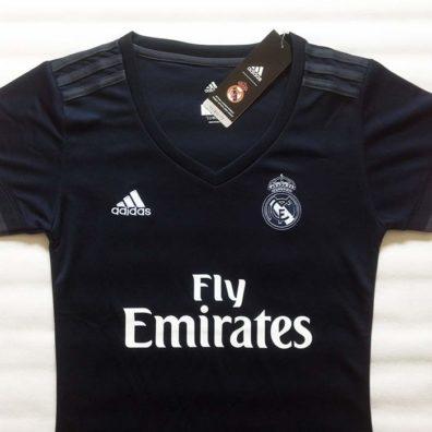 Camisola Real Madrid Feminina para senholas