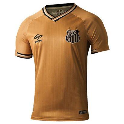 Camisa Santos 2018 2019 dourada camisa 3
