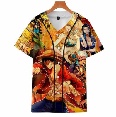 T-shirts One Piece grupo