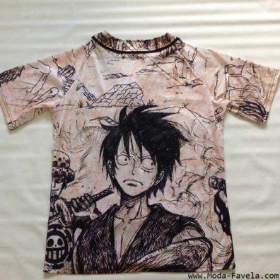 T-shirt/Camisa One Piece Luffy
