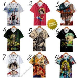 T-shirts One Piece baseball