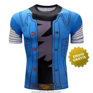 T-shirt Androide 18 Dragon Ball Z frente
