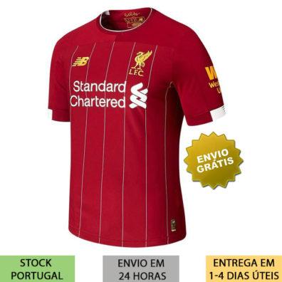 Camisola Liverpool 2019/2020