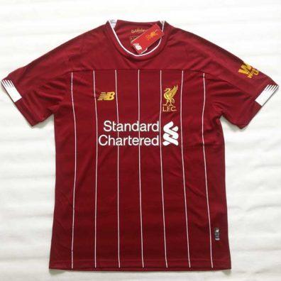Camisola Liverpool 2019/2020 frente