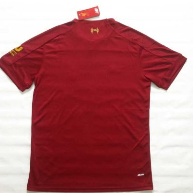 Camisola Liverpool 2019/2020 nova camisa costas