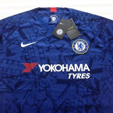 Camisola Chelsea 2019/2020 frente foto real