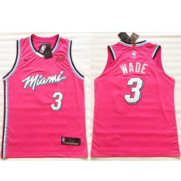 Camisola Miami Heat Wade Rosa