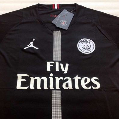 Camisola PSG Jordan preta