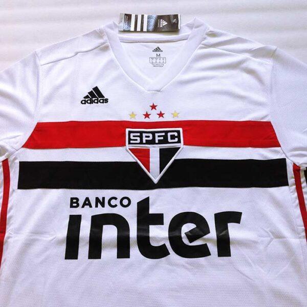 Camisa São Paulo 1 e 2 2019/2020 frente principal