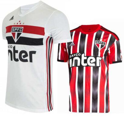 Camisa São Paulo 1 e 2 2019/2020 nova camisa