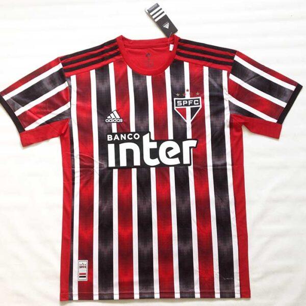 Camisa São Paulo 1 e 2 2019/2020 listrada frente