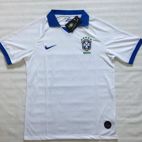 Camisa Brasil Branca Copa América frente