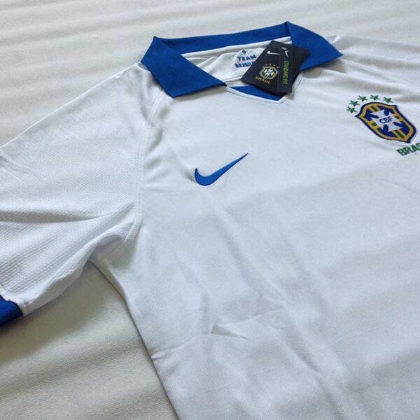 Camisa Brasil Branca Copa América 2019 camisola seleção