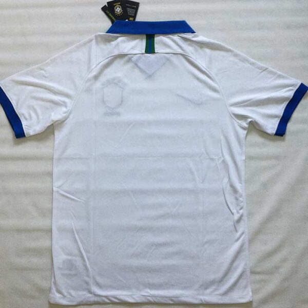 Camisa Brasil Branca Copa América 2019 costa