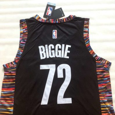 Camisola Brooklyn Nets Biggie 72 costas