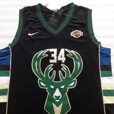 Camisola Milwaukee Bucks frente34 Giannis Antetokounmpo