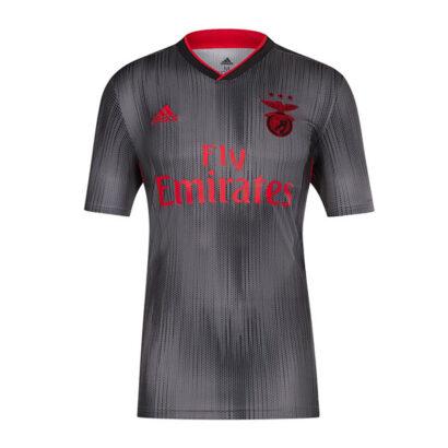 Camisola Benfica Alternativa 2019/2020 cinzenta nova camisa