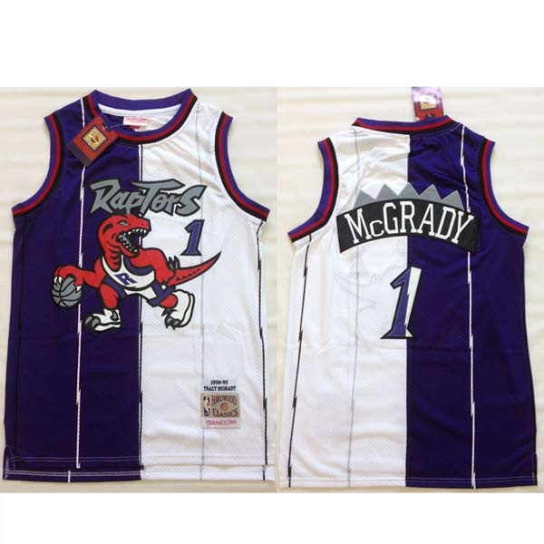 Camisola Tracy McGrady 1 Toronto Raptors