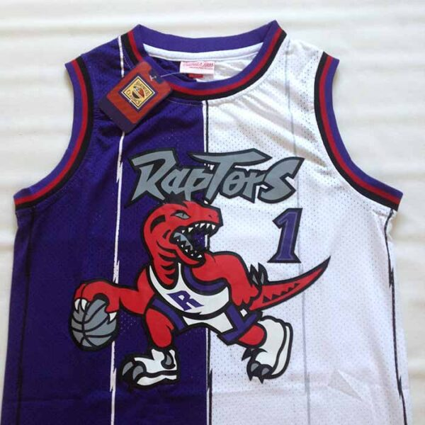 Camisola Tracy McGrady 1 Toronto Raptors frente