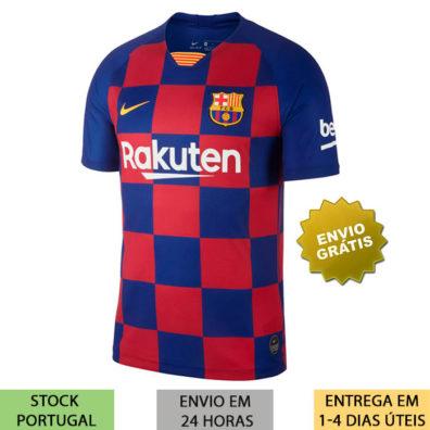 Camisola Principal Barcelona 2019 2020
