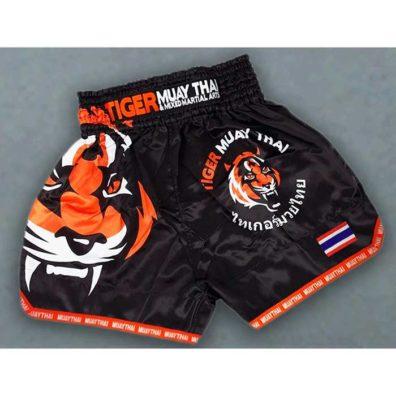 Shorts Kickboxing Tiger Muay Thai Boxe Calção de luta tigre