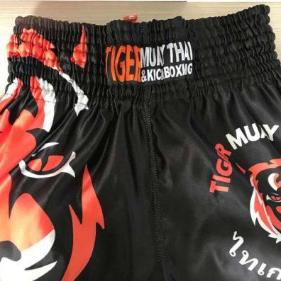 Shorts Kickboxing Tiger Muay Thai Boxe Calção com elastico