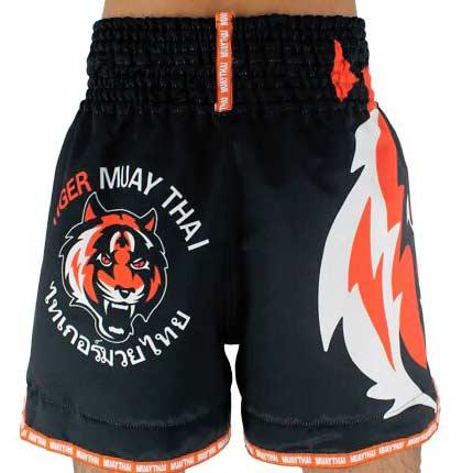 Shorts Kickboxing Tiger Muay Thai Boxe Calção costas
