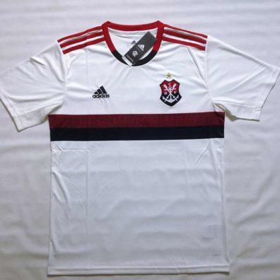 Camisa Branca Flamengo 2019 2020 foto real