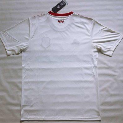 Camisa Branca Flamengo 2019 2020 costas