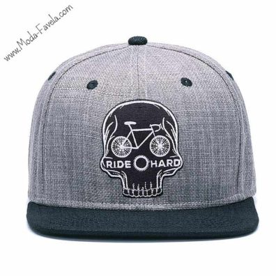 Boné Ride Hard chapeú hip hop