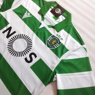 Camisola Sporting 2019/2020 bordada