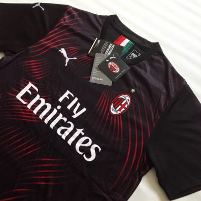 Camisola Alternativa AC Milan 2019/2020 jersey