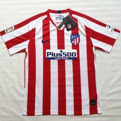 Camisola Atlético de Madrid 2019 2020 foto real