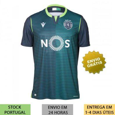 Camisola Sporting Alternativa 2019/2020 nova camisa