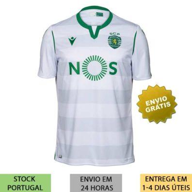 Camisola Branca Sporting 2019/2020 3º Equipamento