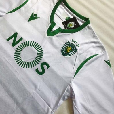 Camisola Branca Sporting 2019/2020 envio grátis
