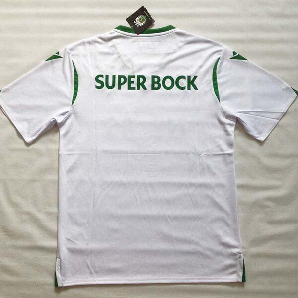 Camisola Branca Sporting 2019/2020 costas