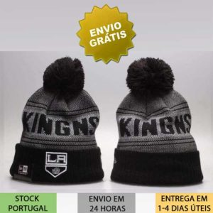 Gorro Los Angeles Kings NHL preto