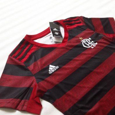 Camisa Flamengo Feminina fotos reais