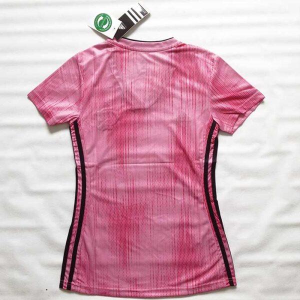 Camisa Feminina Flamengo Rosa - Edição Outubro Rosa costas