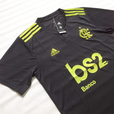 Camisa Cinza Flamengo 2019 2020 frente