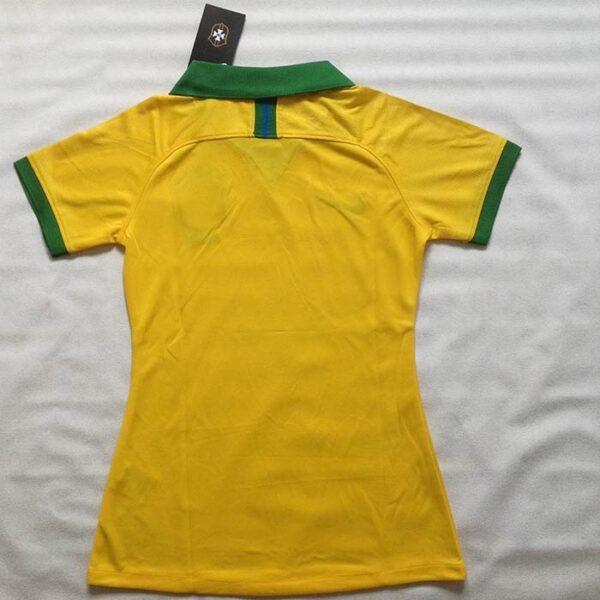 Camisa Feminina Brasil Copa América 2019 costas
