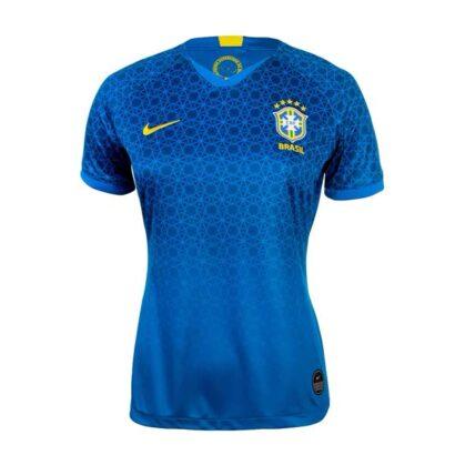 Camisa Brasil Copa do Mundo de Futebol Feminino 2019