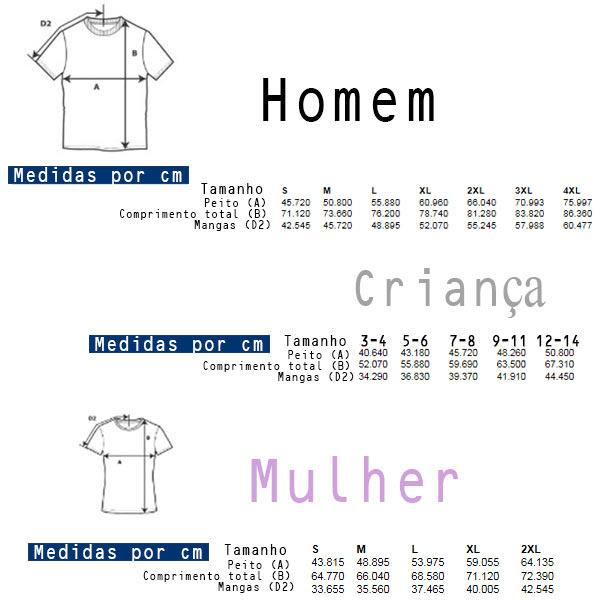 T-shirt lisa em algodão para Homem / Mulher / Criança