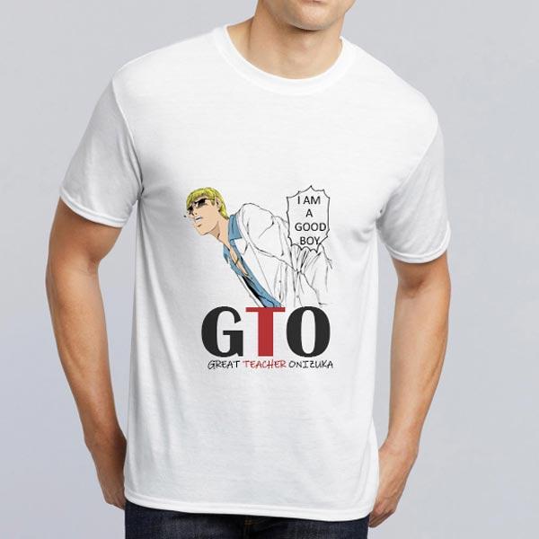 T-shirt GTO branca envio para portugal e ilhas