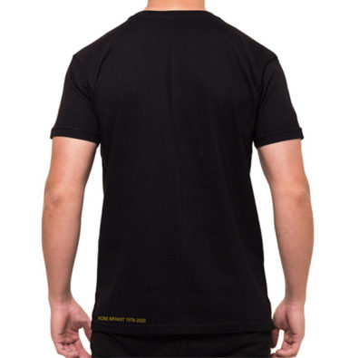 T-shirt Kobe Bryant Live For Ever 24 Preta