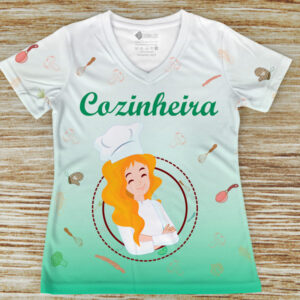 T-shirt profissão/curso Cozinheira comprar em portugal
