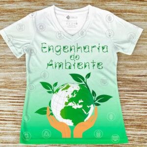 T-shirt profissão/curso Engenharia do Ambiente comprar