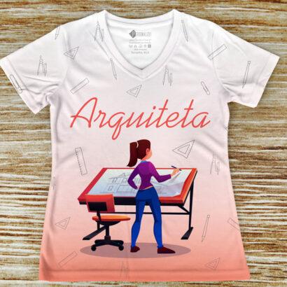 T-shirt profissão/curso Arquiteta comprar em portugal