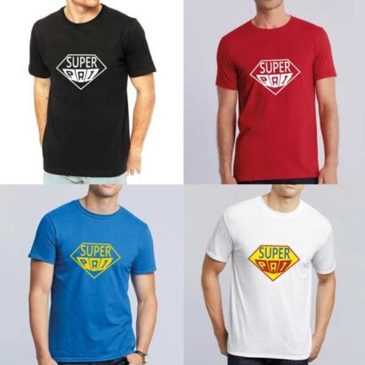 T-shirt Super Pai tema superman